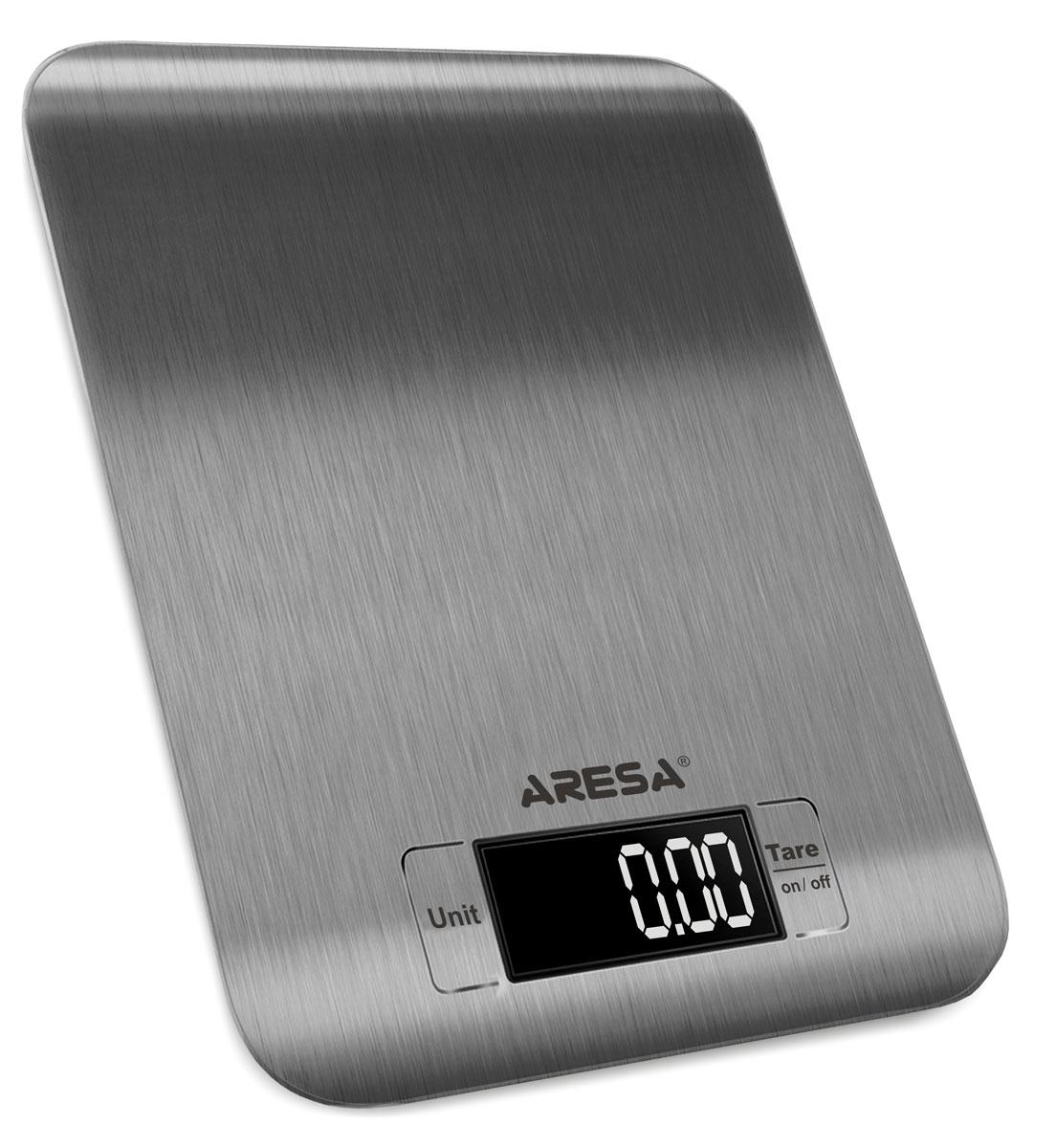 Aresa SK-408 кухонные весыSK-408Кухонные электронные весы Aresa SK-408 - незаменимые помощники современной хозяйки. Они помогут точно взвесить любые продукты и ингредиенты. Кроме того, позволят людям, соблюдающим диету, контролировать количество съедаемой пищи и размеры порций. Предназначены для взвешивания продуктов с точностью измерения 1 грамм.Минимальная нагрузка: 5 г