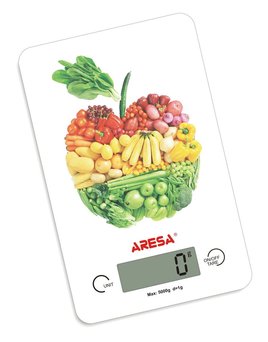 Aresa SK-409 кухонные весыSK-409Кухонные электронные весы Aresa SK-409 - незаменимые помощники современной хозяйки. Они помогут точно взвесить любые продукты и ингредиенты. Кроме того, позволят людям, соблюдающим диету, контролировать количество съедаемой пищи и размеры порций. Предназначены для взвешивания продуктов с точностью измерения 1 грамм.Минимальная нагрузка: 5 г