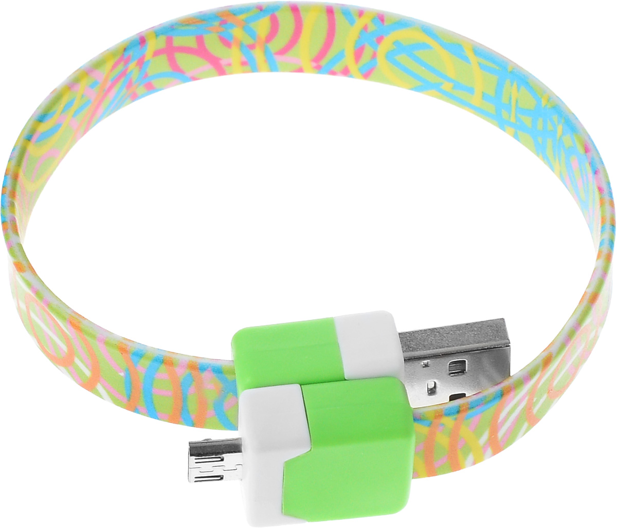 Кабель USB-micro USB 2.0, 25cм DVTech CB135 multicolorDVTech CB135 multicolorКабель DVTech CB135 предназначен для зарядки портативных устройств с разъемом micro-USB от стандартного USB порта и обмена данными между устройствами. Кабель выполнен из высококачественных материалов, в корпусах разъемов размещены магнитные вставки, благодаря чему его можно носить как браслет на запястье.