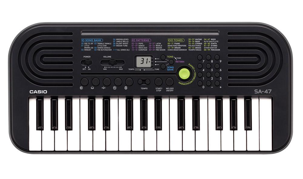 Casio SA-47, Gray цифровой синтезатор - Клавишные инструменты и синтезаторы
