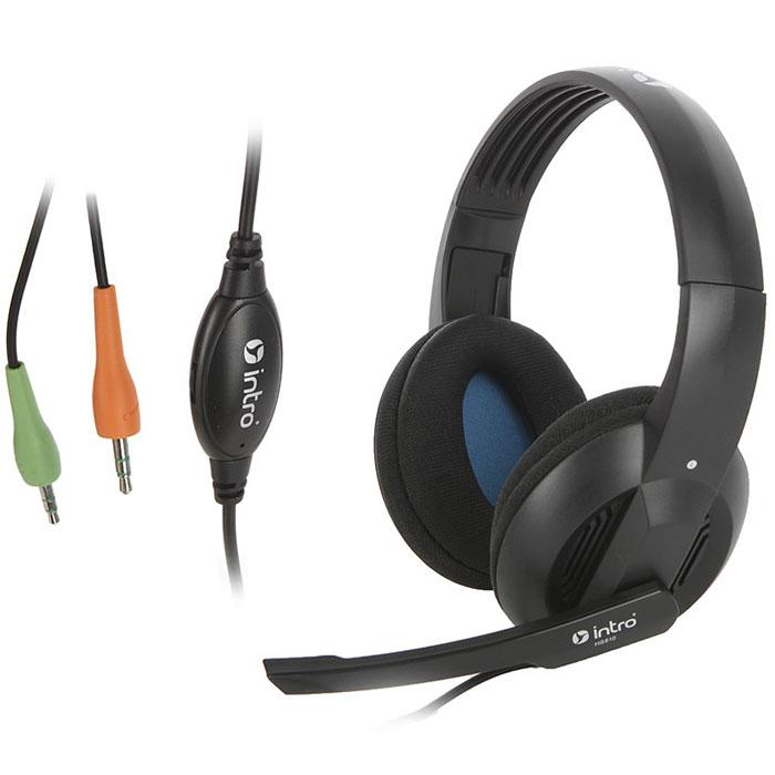 Intro HS810 Jack игровые наушникиHS810Intro HS810 Jack - это игровые наушники с регулируемым пластиковым оголовьем черного цвета. Динамики изделия оборудованы чувствительной мембраной диаметром 40 миллиметров, гарантирующей четкий и ясный звук, а также мягкими амбушюрами. Подключение осуществляется через кабель длиной 2,4 метра, оснащенный интерфейсным разъемом mini-jack. Нет необходимости устанавливать драйверы, просто подключите устройство и начинайте работу.