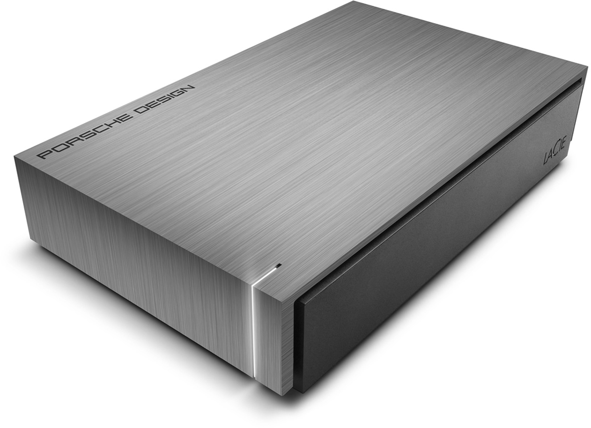 LaCie Porsche Design Desktop Drive 3TB внешний жесткий диск (LAC302003EK)