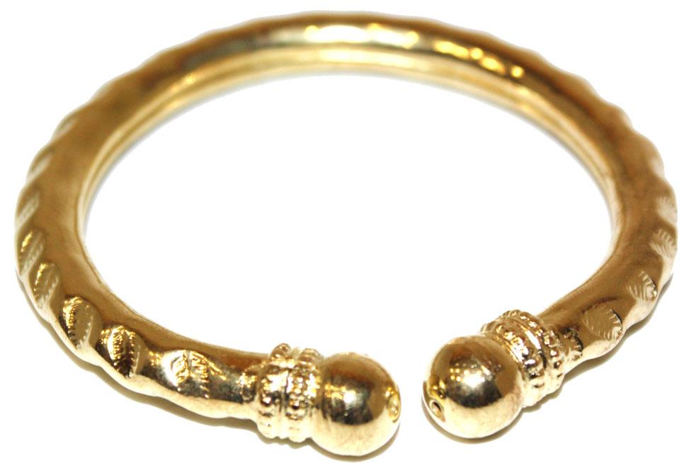 Браслет Ethnica, цвет: золотой. 314120Глидерный браслетЛаконичный браслет Ethnica выполнен из металла и оформлен в восточном стиле.