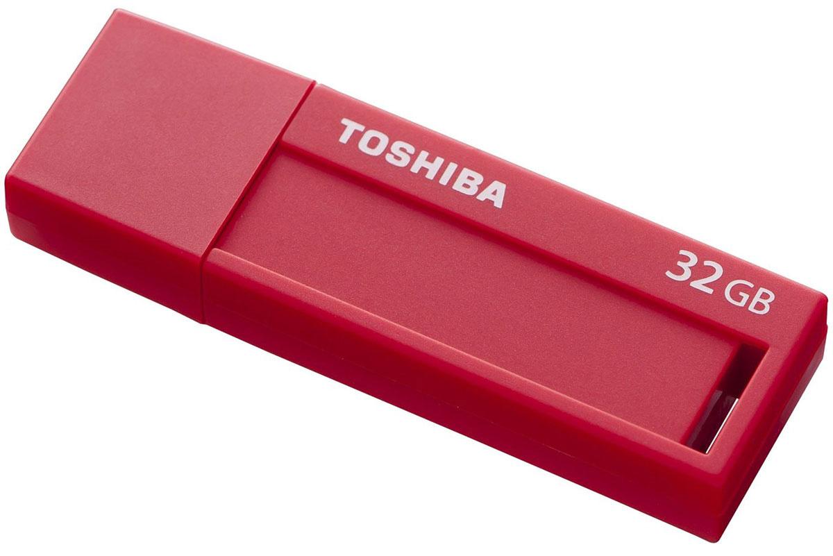 Toshiba U302 32GB, Red флеш-накопительTHN-U302R0320M4Перемещайте видеоролики и другие большие файлы с помощью флэш-накопителя Toshiba U302, поддерживающего стандарт Super Speed USB 3.0. Этот накопитель новой серии позволяет перемещать данные в два раза быстрее, чем при использовании USB 2.0! Эти накопители также можно использовать с устройствами с интерфейсом USB 2.0.Toshiba U302 разработан таким образом, чтобы соответствовать современному стилю жизни, поэтому имеет простую и продуманную конструкцию. Для накопителей этой серии доступен широкий выбор цветов корпуса и объема памяти. Специальное место для заметок размером 9 x 33 мм и этикетки для записей позволяют быстро найти необходимый накопитель. Функциональная минималистичная конструкция обеспечивает легкость использования устройства.