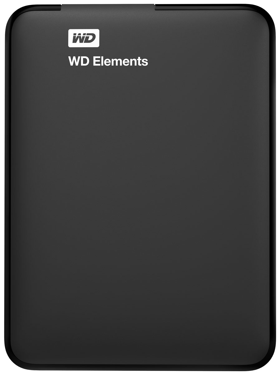 WD Elements Portable 1,5TB, Black внешний жесткий диск (WDBU6Y0015BBK-EESN) - Носители информации