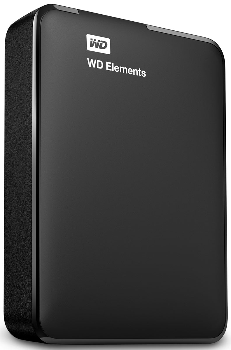 WD Elements Portable 3TB, Black внешний жесткий диск (WDBU6Y0030BBK-EESN) - Носители информации