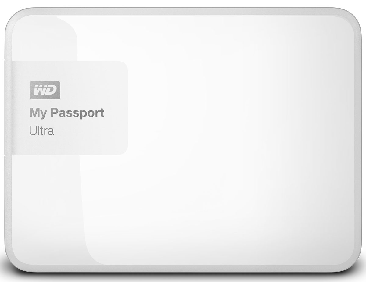 WD My Passport Ultra 3TB, White внешний жесткий диск (WDBNFV0030BWT-EEUE)WDBNFV0030BWT-EEUEНесмотря на свои компактные размеры, накопитель My Passport Ultra является стильным, мощным и защищенным устройством. Под цветным корпусом скрыты надежность и результат семи поколений инноваций. My Passport Ultra предлагается в четырех цветовых решениях, доступна емкость 500 ГБ, 1 ТБ, 2 ТБ, 3 ТБ или 4 ТБ. Накопитель обладает гибкими параметрами резервного копирования, аппаратным шифрованием с 256-разрядным ключом и ограниченной гарантией в три года.Создайте собственную стратегию автоматического резервного копирования, отвечающую вашему графику и стилю работы. Создавайте резервные копии всех файлов системы или только отдельных папок и файлов. Управление в ваших руках.Вы ведь защищаете данные на телефоне с помощью пароля? Почему бы не использовать такую же защиту в накопителе My Passport? Выберите пароль для защиты с помощью мощного аппаратного шифрования с 256-разрядным ключом, которое используется правительствами для защиты секретной информации.My Passport Ultra поддерживает интерфейс USB 3.0, обеспечивающий скорость передачи данных 5 Гбит/с (что в три раза превышает скорость USB 2.0). Для работы накопителя не нужны громоздкие шнуры питания и штепсельные вилки.Пропускная способность интерфейса: 5 Гбит/сШифрование с ключом 256 битОС: Windows 8, 7, Vista; Mac OS X (требуется переформатирование)