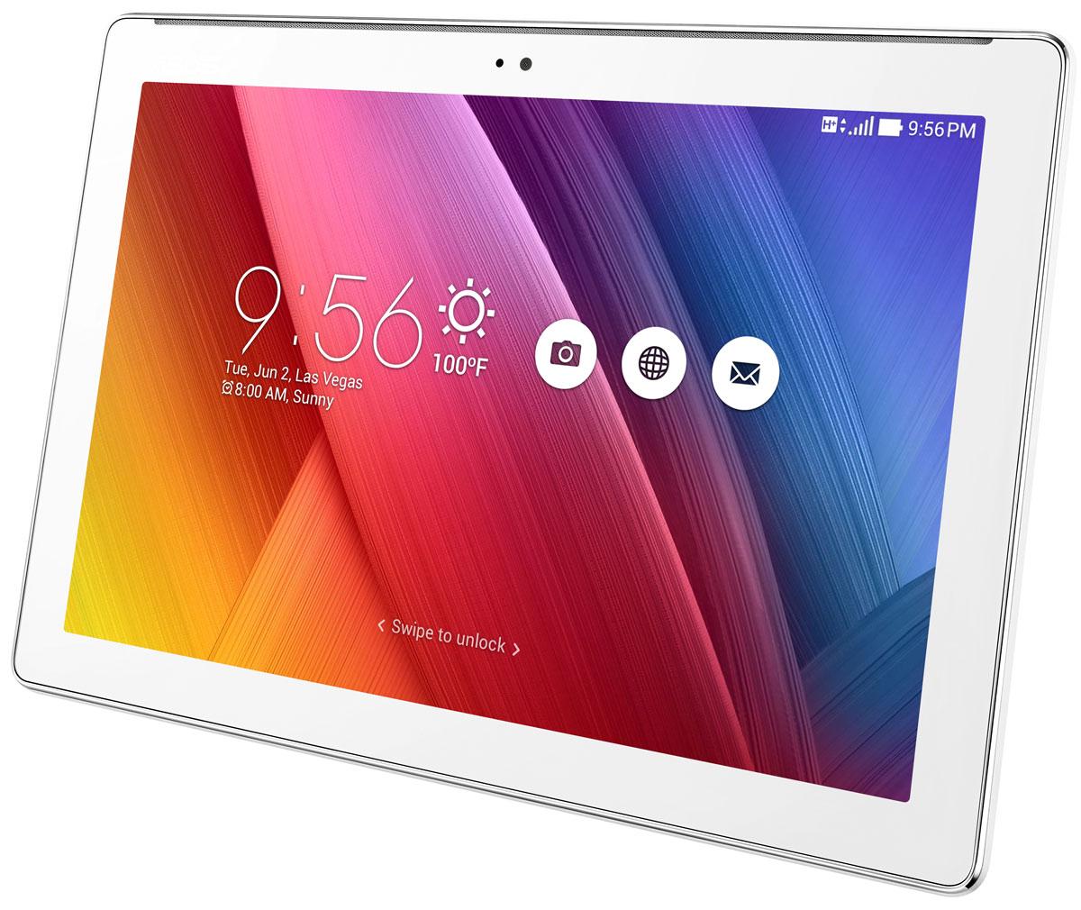 ASUS ZenPad 10 Z300CG 16GB, White (Z300CG-1B004A)Z300CG-1B004AAsus ZenPad 10 Z300CG имеет дизайн-философию Zen, которая направлена на разработку красивых и высокотехнологичных устройств – роскоши, доступной для каждого. Внешний вид этого планшета - яркий, стильный, современный - не оставит равнодушным ни одного пользователя!Великолепное изображение:ASUS VisualMaster – это общее название комплекса аппаратных и программных средств улучшения изображения за счет оптимизации множества параметров, включая контрастность, резкость, цветопередачу, яркость. ASUS VisualMaster – залог красочной и реалистичной картинки на экране планшета.Интеллектуальная оптимизация контрастности:Оптимизация контрастности служит для более точной передачи оттенков в самых ярких и самых темных участках изображения.Оптимизация резкости:Увеличение детализации делает изображение на экране планшета более реалистичным.Невероятный звук:За великолепное звучание планшетов ZenPad отвечают передовые аудиотехнологии DTS-HD Premium Sound и SonicMaster.Ты увидишь то, что скрыто:Используя технологию PixelMaster, камера ZenPad может снимать панорамные селфи, охватывающие угол до 140 градусов. На такой автопортрет поместитесь не только вы сами, но и все ваши друзья!Планшет сертифицирован EAC и имеет русифицированный интерфейс, меню и Руководство пользователя.