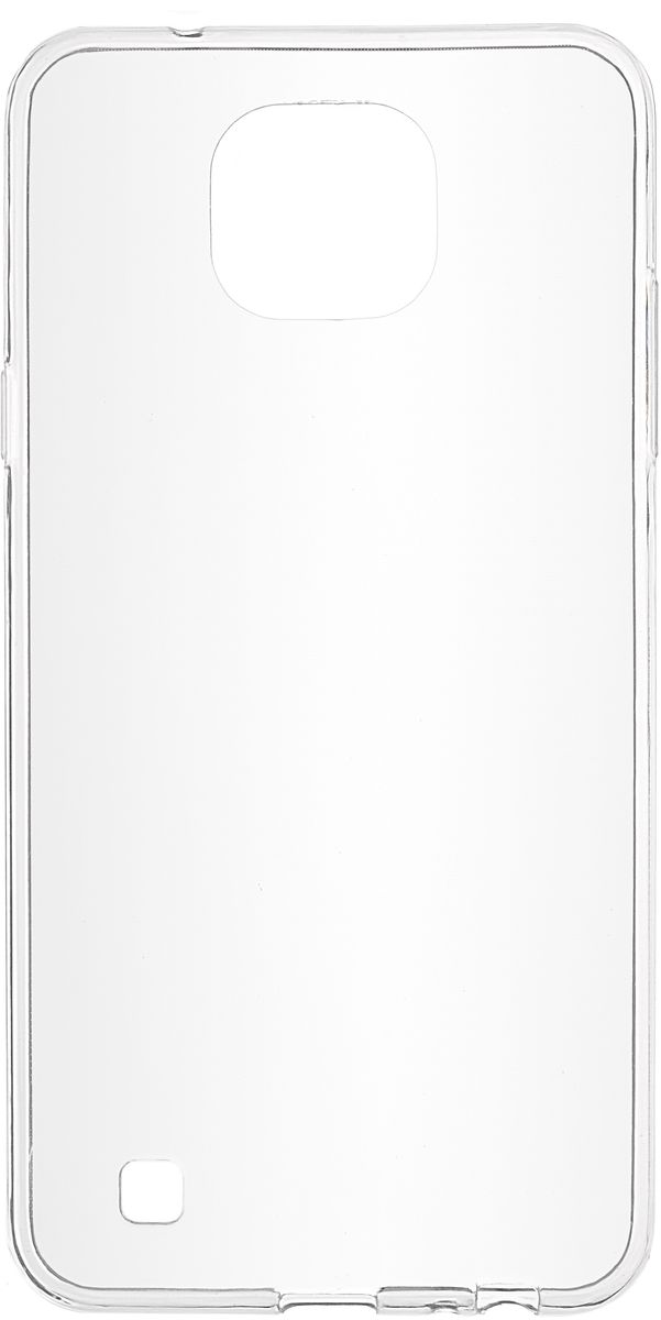все цены на Skinbox Slim Silicone чехол для LG X Cam, Transparent онлайн