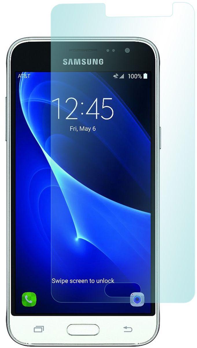 Skinbox защитное стекло для Samsung Galaxy J3 (2016), Glossy2000000096575Защитное стекло Skinbox для Samsung Galaxy J3 изготовлено из специально обработанного многослойного закаленного стекла прочности 9H. Олеофобное покрытие предотвратит появление следов от пальцев и сохранит чувствительность сенсора смартфона. Также стекло имеет закругленные края(2,5D).В комплекте идет всё необходимое для установки: салфетка обезжиривающая, микрофибровая салфетка, стикер для удаления пыли.