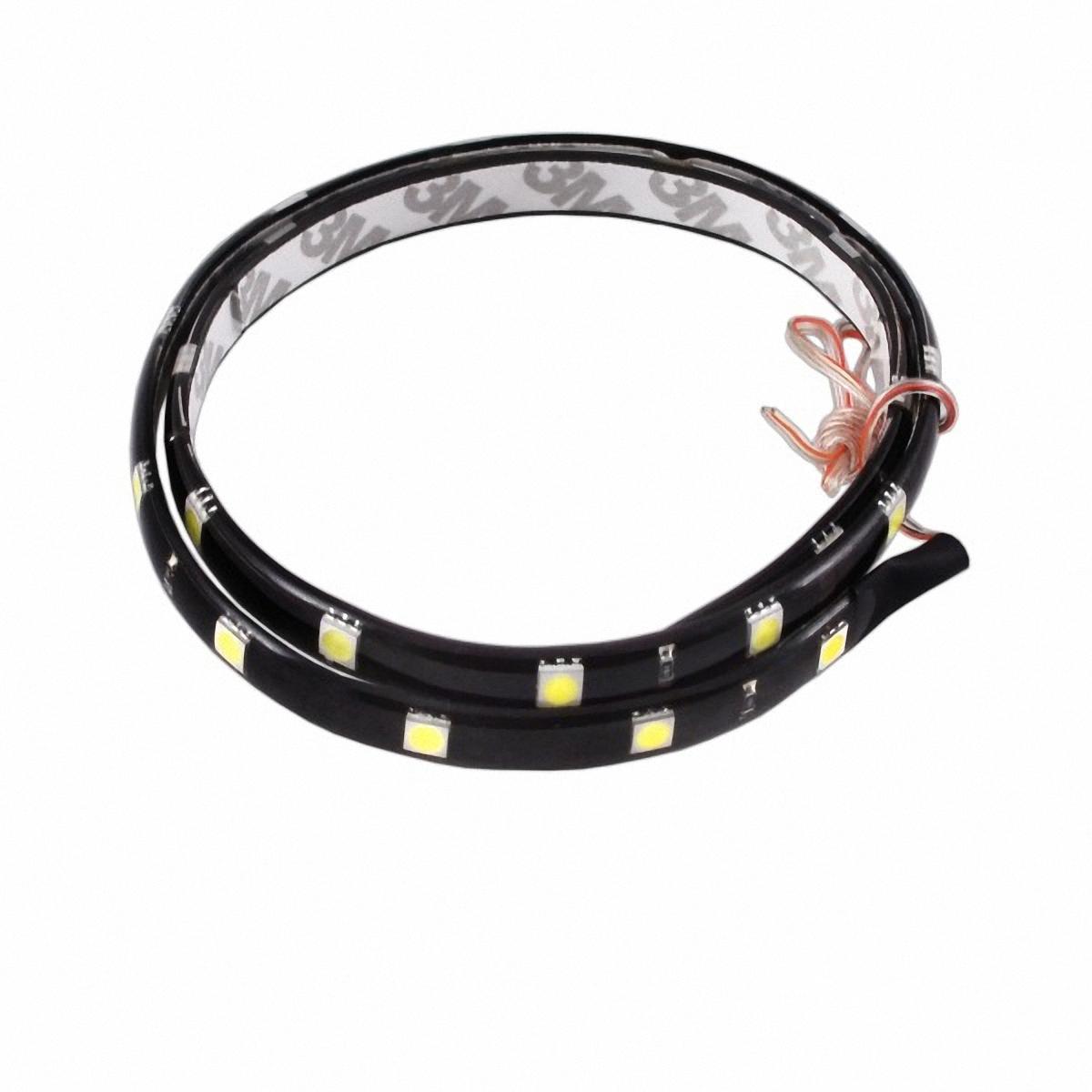 Skyway Лента светодиодная 24 SMD диодов. S03201004S03201004Входное напряжение: 12V.Длина: 60 см.Цвет свечения: белый.