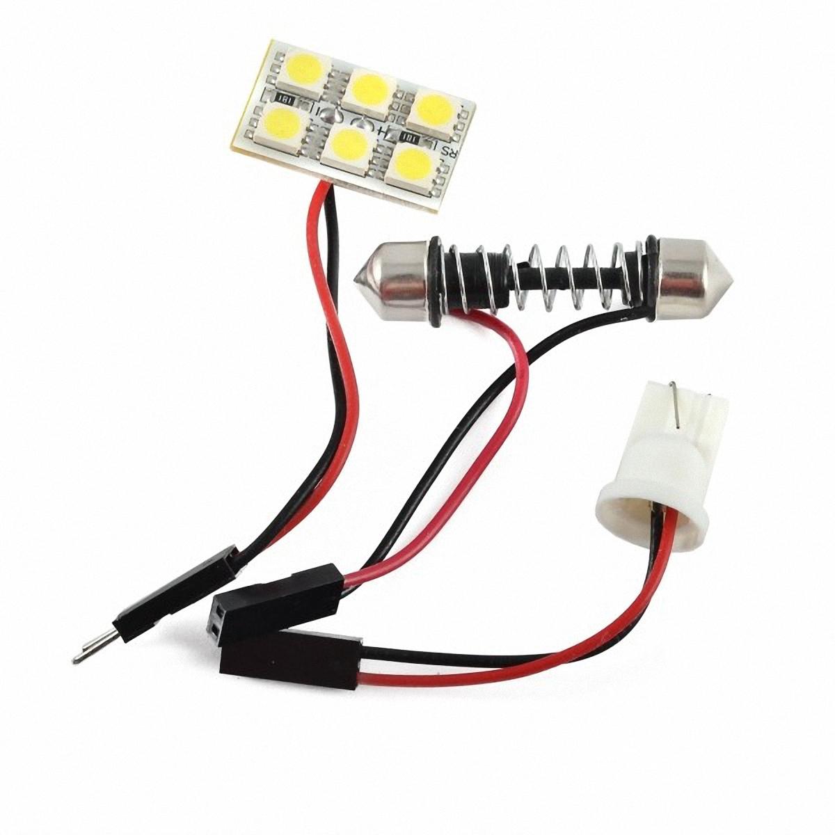 Skyway Панель светодиодная 6 SMD диодов Белая. SCX-0650SCX-0650Светодиодные панели имеют значительно больший срок службы, потребляют намного меньше электроэнергии и выдают свет значительно мягче и ровнее, чем те же люминесцентные лампы, не говоря уже о лампах накаливания.Они очень удобны, легко вставляются и достаточно практичны.