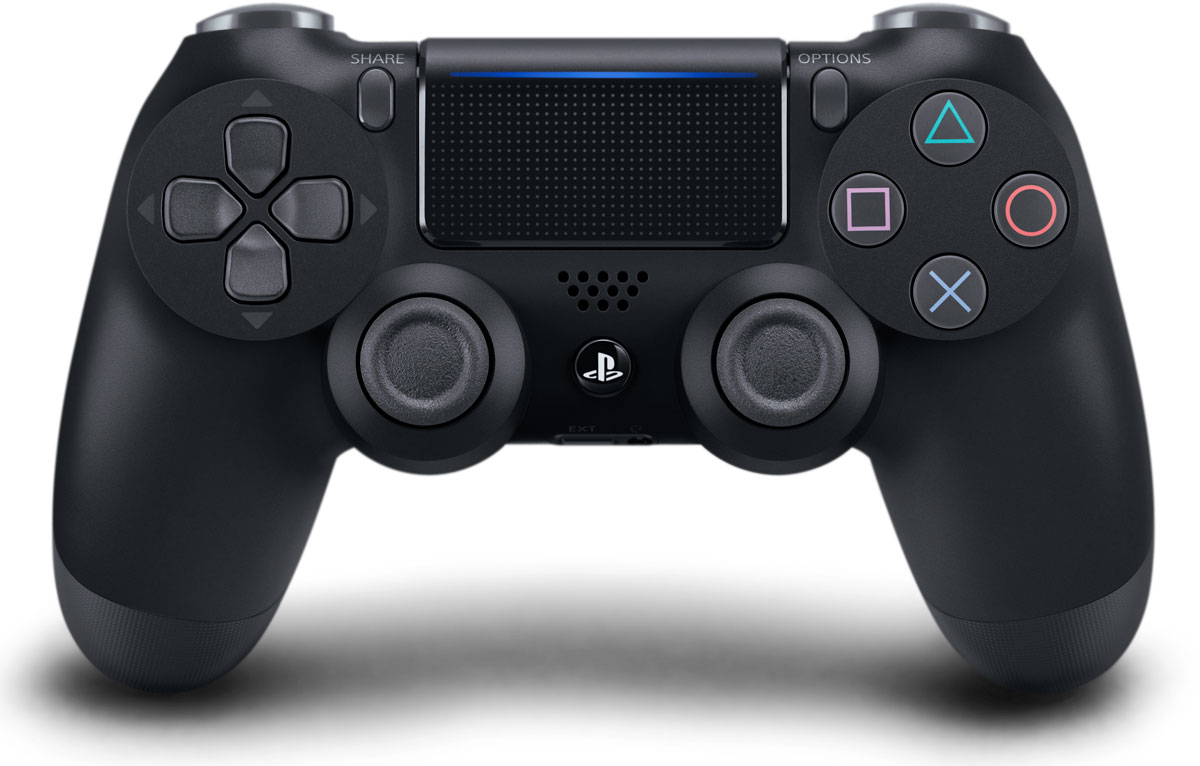Sony DualShock 4 Cont, Black геймпад для PS4 (CUH-ZCT2)