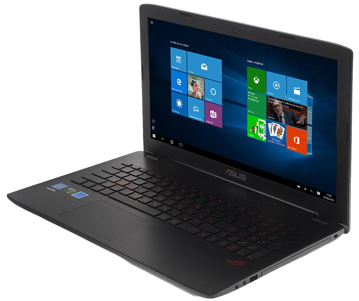 ASUS ROG GL552VX (GL552VX-DM248T)GL552VX-DM248TМаксимальная скорость, оригинальный дизайн, великолепное изображение и возможность апгрейда конфигурации - встречайте геймерский ноутбук Asus ROG GL552VX.В компактном корпусе скрывается мощная конфигурация, включающая операционную систему Windows 10, процессор Intel Core i5 и дискретную видеокарту NVIDIA GeForce GTX950M. Ноутбук также оснащается интерфейсом USB 3.1 в виде удобного обратимого разъема Type-C.Клавиатура ноутбука GL552VX оптимизирована специально для геймеров, поэтому клавиши со стрелками расположены отдельно от остальных. Прочная и эргономичная, эта клавиатура оснащается подсветкой красного цвета, которая позволит с комфортом играть даже ночью.Для хранения файлов в GL552VX имеется жесткий диск емкостью 1 ТБ. Кроме того, в эту модель может устанавливаться опциональный твердотельный накопитель с интерфейсом M.2 и емкостью до 256 ГБ.Функция GameFirst III позволяет установить приоритет использования интернет-канала для разных приложений. Получив максимальный приоритет, онлайн-игры будут работать максимально быстро, без раздражающих лагов, и другие онлайн-приложения, имеющие низкий приоритет, не будут им в этом мешать.Asus ROG GL552VX оснащается 15,6-дюймовым дисплеем формата Full HD, чье матовое покрытие минимизирует раздражающие блики, а широкие углы обзора являются залогом точной цветопередачи.Реализованная в модели GL552VX аудиосистема с эксклюзивной технологией ASUS SonicMaster выдает великолепный звук, а программное обеспечение ROG AudioWizard позволяет быстро и легко подстраивать оттенки звучания под конкретную игру, активируя один из пяти предустановленных режимов.Точные характеристики зависят от модификации.Ноутбук сертифицирован EAC и имеет русифицированную клавиатуру и Руководство пользователя.