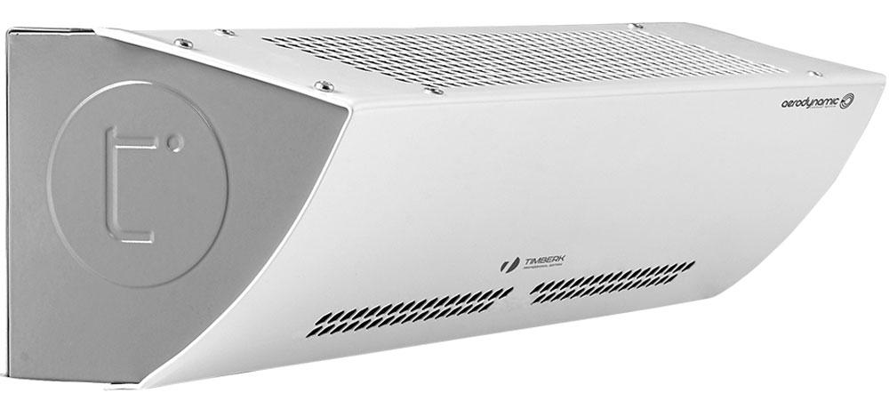 Timberk THC WS3 5MX AERO II тепловая завесаTHC WS3 5MX AERO IIТепловая завеса Timberk Timberk THC WS3 5MX AERO II - компактный прибор с высокой энергоэффективностью. Данная модель имеет современный СТИЧ-элемент с усиленной конструкцией. Технология AERODYNAMIC CONTROL повышает эффективность работы прибора и его срок службы. Она снижает нагрузку на тангенциальный блок и увеличивает воздушный объем за счет увеличения площади забора воздуха.Принципиально новое безопасное расположение нагревательного элемента позволяет создавать равномерный плотный тепловой поток по всей высоте и высокую производительность по воздуху. Техническое решение FastInstall обеспечивает электрическое подключение без разбора корпуса прибора. Прибор имеет двигатель с увеличенным ресурсом и многоуровневой защитой от перегрева, а также выполнен в ударопрочном корпусе с износостойким мелкодисперсионным антикоррозийным покрытием.Горизонтальная и вертикальная (опционально) установкаРежим вентиляции, экономичного и интенсивного обогреваЗащитный термостат
