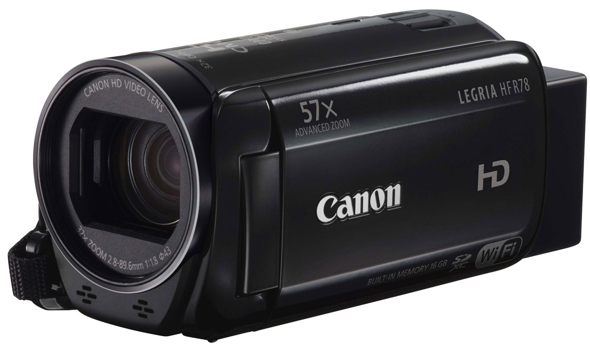 Canon LEGRIA HF R78, Black цифровая видеокамера