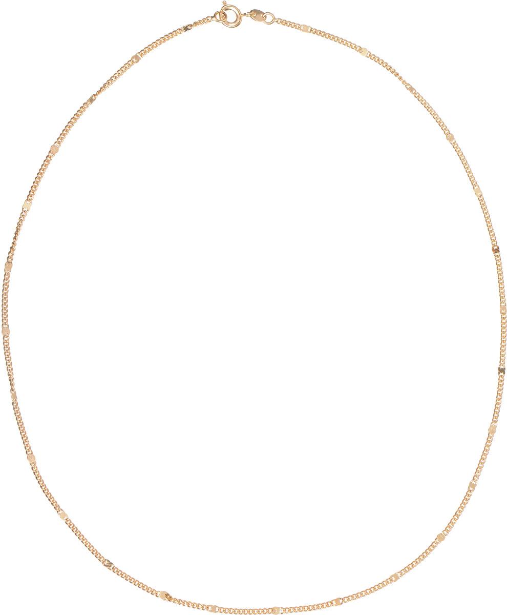 Цепочка Taya, цвет: золотистый. T-B-11719Колье (короткие одноярусные бусы)Элегантная цепочка от Taya изготовлена из качественного бижутерного сплава. Изделие застегивается на шпрингельный замок. Такая изящная цепочка идеально дополнит ваш образ и подчеркнет ваш изысканный вкус.