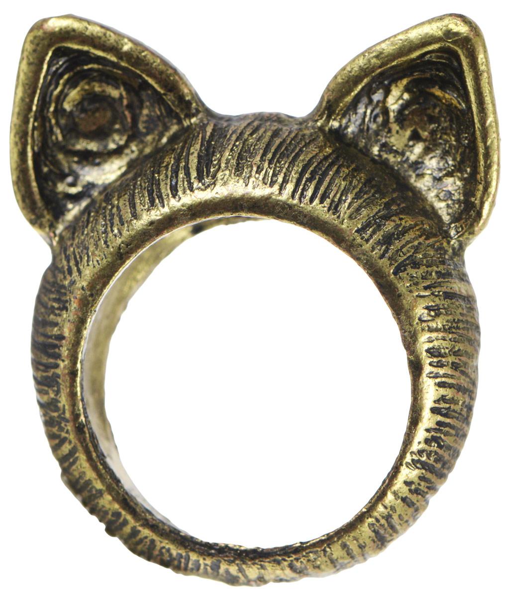 Кольцо YusliQ Кошачьи ушки. Ручная авторская работа. 26-002Коктейльное кольцоСтильное кольцо YusliQ Кошачьи ушки выполнено из металла и декорировано ушками, напоминающие кошачьи. Такое кольцо это блестящее завершение вашего неповторимого и смелого образа и отличный подарок для ценительницы необычных украшений!