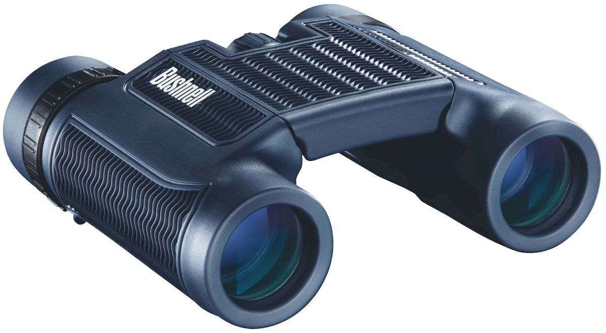 Бинокль Bushnell H2O Roof Compact 10X25, цвет: синий бинокль bushnell 173507 bushnell7x35