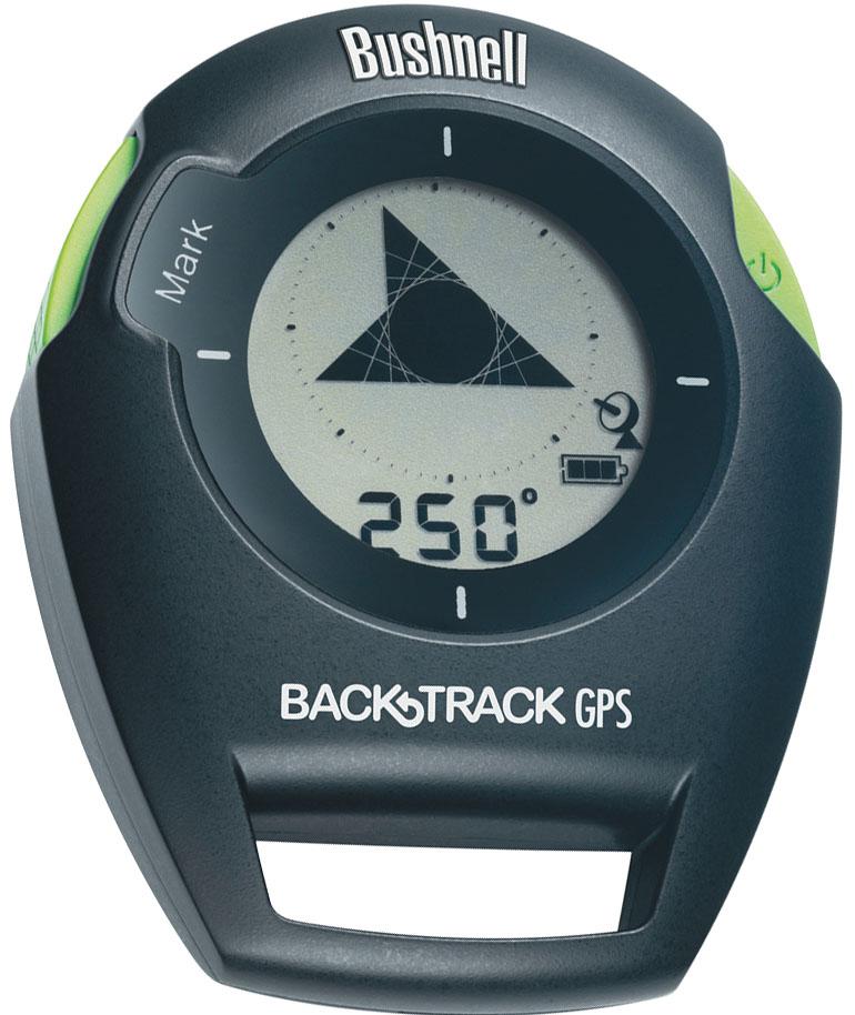 Навигаторы Bushnell Backtrack G2, цвет: черно-зеленый360411Навигатор Bushnell Backtrack G2 (возвращатель) использует GPS-технологию, обходится всего двумя кнопками и может запоминать до трёх точек. Просто выберите нужную иконку и устройство покажет направление и укажет расстояние до места которое вы предварительно запомнили. Компактный размер-легко помещается в карман; Светодиодная подсветка экрана; Работает от 2-х батареек ААА.