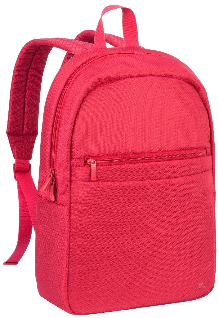 Riva 8065, Red рюкзак для ноутбука 15.66644Riva 8065 - это легкий, бюджетный рюкзак для ноутбуков до 15.6. Рюкзак выполнена из плотного синтетического материала и имеет утолщенные стенки для лучшей защиты ноутбука от случайных ударов и царапин, а также от пыли и влаги. Основное отделение для ноутбука с вертикальной загрузкой, имеет мягкие стенки и ремень для надежной фиксации ноутбука до 15.6. Также имеется дополнительное внутреннее отделение для планшета до 10.1. Есть два внешних передних кармана: один на молнии, второй на липучке предназначены для хранения аксессуаров, смартфона. Двойная застежка молния для удобного доступа к устройству. Удобная ручка для переноски и наплечные ремни со смягчающими подкладками помогут чувствовать себя комфортно в самом долгом путешествии.