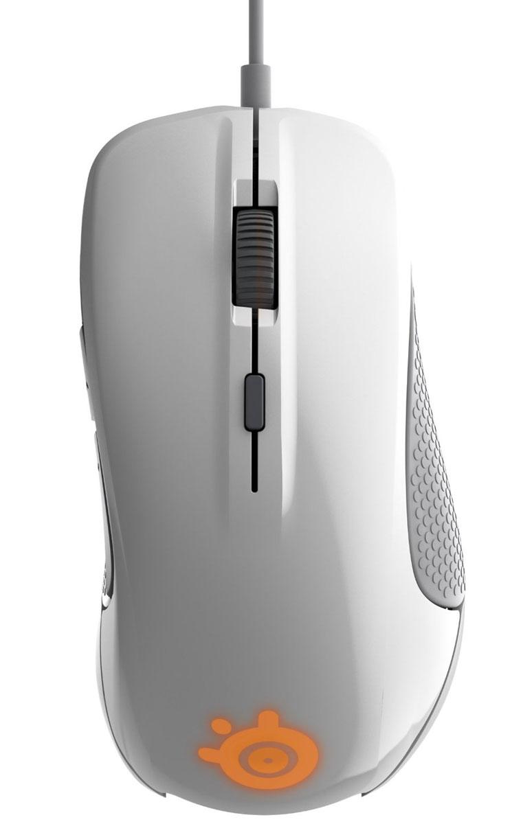 SteelSeries Rival 300, White игровая мышь62354SteelSeries Rival 300 - профессиональная игровая мышь, которая имеет в своем арсенале целый ряд технологических новинок последнего поколения и современный лаконичный дизайн.SteelSeries Rival 300 отвечает всем требованиям современных геймеров: она оснащена современным оптическим сенсором и переключателями, а также отличается эргономичностью, что является немаловажной деталью во время игры.Прорезиненные вставки и удобные кнопки, а также множество различных опций и дополнений делают эту мышь поистине незаменимой для современного геймера.Настраиваемые кнопкиДве зоны подсветкиНастройка ExactTechСовременный дизайн6 программируемых кнопок (включая возможность назначить функцию регулировки разрешения сенсора (CPI) для любой из них)Мягкий и прочный кабельНастраиваемые опции Rival 300:Точная настройка характеристик Aim, Accel, Snapping16,8 миллионов цветов и 2 зоны свечения подсветкиСинхронизирующиеся в облаке профили настроек