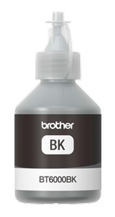 Brother BT-6000BK, Black чернила для DCP-T300/DCP-T500W/DCP-T700WBT6000BKЧернила Brother BT-6000BK совместимы с моделями МФУ DCP-T300 / DCP-T500W / DCP-T700W.Струйные картриджи Brother сконструированы таким образом, чтобы идеально работать с МФУ, что дает отличные результаты и экономию средств.
