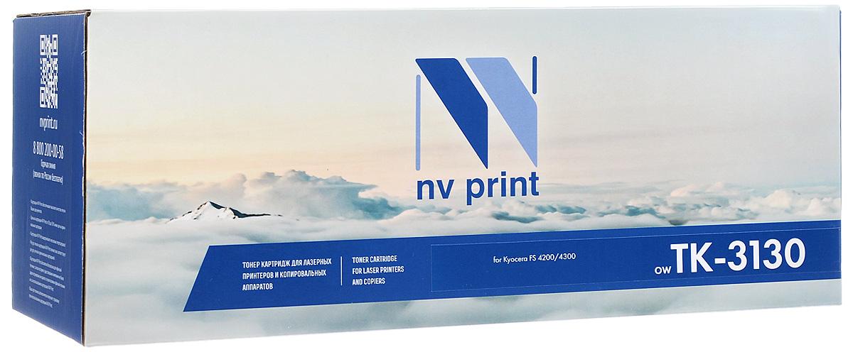 NV Print TK-3130, Black тонер-картридж для Kyocera FS-4200DN/4300DN