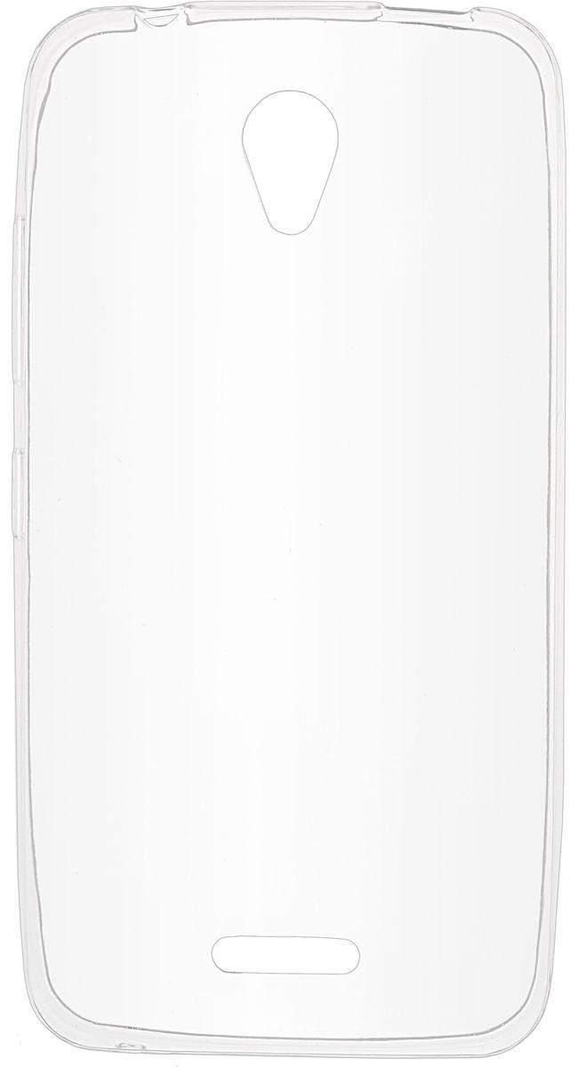 все цены на Skinbox Slim Silicone чехол для Lenovo A1010/A2016, Transparent онлайн