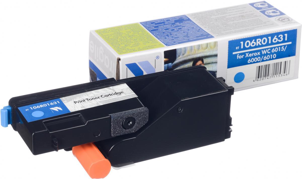 NV Print 106R01631C, Cyan тонер-картридж для Xerox Phaser 6000/6010NV-106R01631CСовместимый лазерный картридж NV Print 106R01631C для печатающих устройств Xerox - это альтернатива приобретению оригинальных расходных материалов. При этом качество печати остается высоким. Картридж обеспечивает повышенную чёткость и плавность переходов оттенков цвета и полутонов, позволяет отображать мельчайшие детали изображения.Лазерные принтеры, копировальные аппараты и МФУ являются более выгодными в печати, чем струйные устройства, так как лазерных картриджей хватает на значительно большее количество отпечатков, чем обычных. Для печати в данном случае используются не чернила, а тонер.