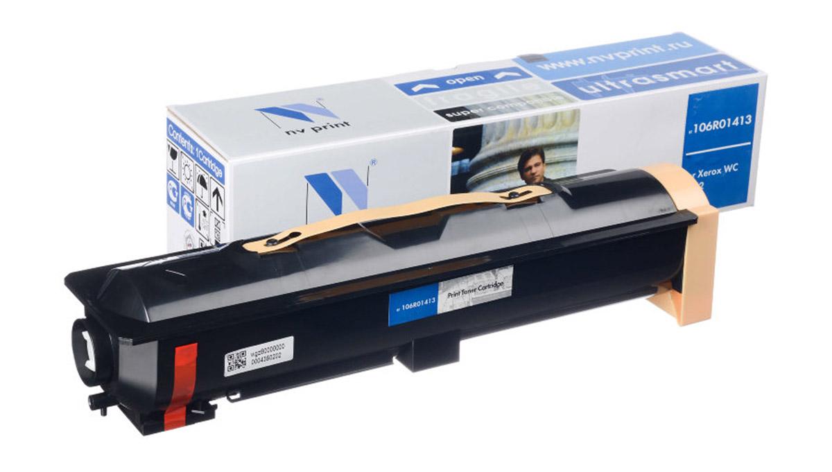 NV Print 106R01413, Black тонер-картридж для Xerox WC 5222NV-106R01413Совместимый лазерный картридж NV Print 106R01413 для печатающих устройств Xerox - это альтернатива приобретению оригинальных расходных материалов. При этом качество печати остается высоким. Картридж обеспечивает повышенную чёткость чёрного текста и плавность переходов оттенков серого цвета и полутонов, позволяет отображать мельчайшие детали изображения.Лазерные принтеры, копировальные аппараты и МФУ являются более выгодными в печати, чем струйные устройства, так как лазерных картриджей хватает на значительно большее количество отпечатков, чем обычных. Для печати в данном случае используются не чернила, а тонер.