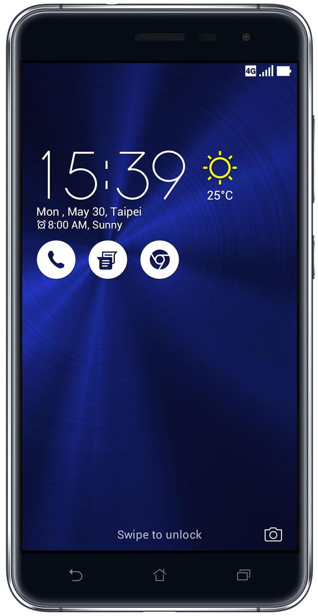 ASUS ZenFone 3 ZE552KL, Sapphire Black (90AZ0121-M01140)90AZ0121-M01140ZenFone 3 - это современный смартфон с оригинальным дизайном и высококачественной камерой, который станет вашу жизнь чуть более необычной.Современный смартфон, отделанный с обеих сторон защитным стеклом безупречно выверенной формы. Тонкий корпус, который идеально ложится в ладонь. Оригинальный узор из концентрических окружностей, украшающий заднюю панель и выгравированный на кнопках, как отражение философской гармонии Дзен. Вы хотите получить совершенно новые впечатления от своего нового смартфона? Просто взгляните и прикоснитесь к ZenFone 3.ZenFone 3 - это синоним тонкой работы. Заключенный в корпус из высокопрочного стекла Corning Gorilla Glass со скругленными кромками, данный смартфон имеет толщину всего 7,69 мм. Красоту его изысканного дизайна подчеркивают акценты на боковых гранях, выполненные методом алмазной резки. Это шедевр современного инженерного искусства, которым вы никогда не устанете наслаждаться.ZenFone 3 оснащается превосходным дисплеем с диагональю 5,5, разрешением Full-HD (1920х1080 пикселей), увеличенной до 600 кд/м2 яркостью и широкими углами обзора, что обеспечивает качественное изображение даже в условиях сильного солнечного освещения. Причем благодаря сверхтонкой рамке (2,1 мм) и большой площади (более 77% от размера передней панели) экран ничуть не влияет на компактность смартфона.Технология PixelMaster 3.0 выводит фотовозможности устройств серии ZenFone 3 далеко за рамки доступного обычным смартфонам. Чтобы запечатлеть уникальную красоту окружающего мира в ее неповторимом великолепии, ZenFone 3 оснащается 16-мегапиксельным сенсором, светосильным объективом f/2.0 и системой тройной следящей автофокусировки TriTech с быстродействием от 0,03 с. Если добавить к этому высокоэффективную систему оптической и электронной стабилизации изображения, а также датчик цветокоррекции, то можно не сомневаться: четкие снимки и видеоролики с естественными, насыщенными цветами можно получит