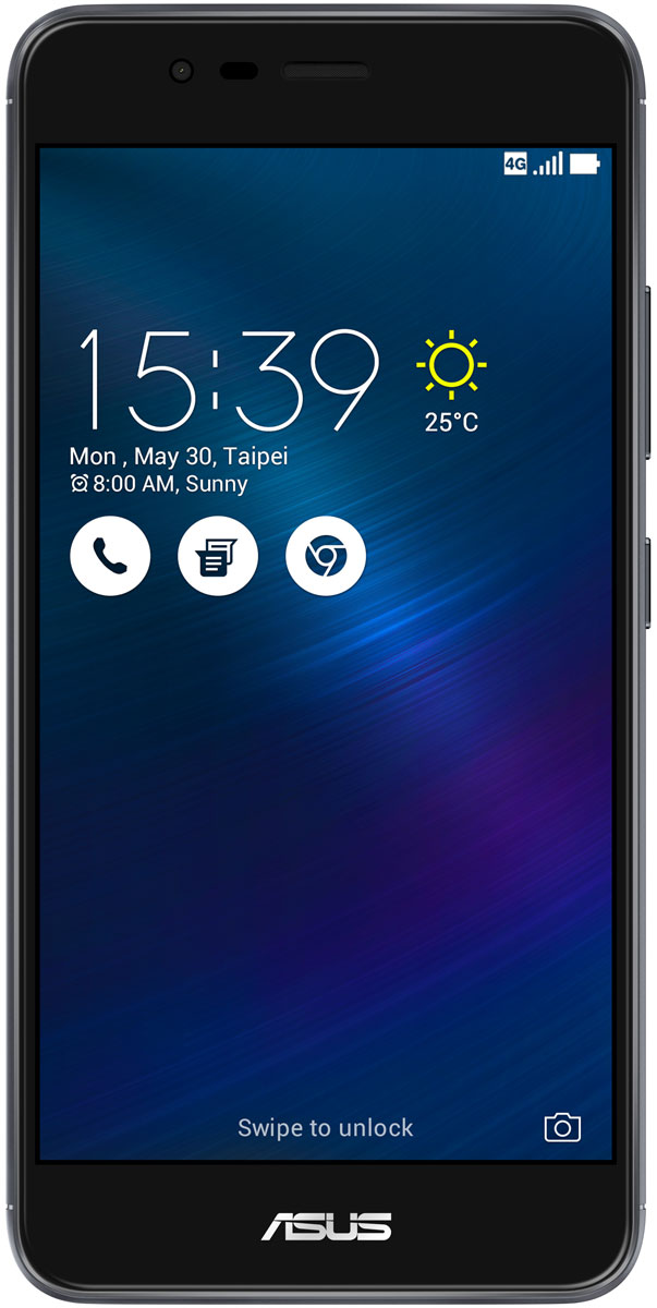ASUS ZenFone 3 Max ZC520TL, Grey (90AX0086-M00310)90AX0086-M00310Вы живете активной жизнью, а ваш смартфон к середине дня уже разряжен? Тогда вам нужен новый ZenFone 3 Max. Аккумулятор емкостью 4100 мАч позволит пользоваться этим смартфоном с раннего утра до поздней ночи. Работайте продуктивнее, и развлекайтесь ярче – ZenFone 3 Max поможет вам жить еще активнее!С новым 5,2-дюймовым ZenFone 3 Max вам больше не придется беспокоиться о том, что у вас сядет смартфон в самый неподходящий момент. Благодаря большой емкости аккумулятора (4100 мАч), ZenFone 3 Max может работать до 30 дней в режиме ожидания. Чем больше емкость аккумулятора, тем больше пользы от смартфона, ведь каждый хочет получить максимум от своего мобильного устройства, не прибегая к подзарядке: пролистать больше веб-сайтов, просмотреть больше видеороликов и пообщаться с большим числом друзей, чем при использовании обычных смартфонов.Емкости аккумулятора в современном смартфоне никогда не бывает много. Именно поэтому инженеры компании ASUS разработали две специальные энергосберегающие технологии, позволяющие продлить время автономной работы ZenFone 3 Max. Даже если уровень заряда аккумулятора упадет до 10%, вы сможете увеличить время работы смартфона в режиме ожидания на дополнительные 36 часов, просто активировав функцию суперэкономии.ZenFone 3 Max сочетает в себе все самое лучшее: дисплей, покрытый защитным стеклом с закругленными краями, эргономичный корпус с изогнутой задней панелью, стильные цвета. Это шедевр современного дизайна и инновационных технологий, который не захочется выпускать из рук.ZenFone 3 Max оснащается превосходным 5,2-дюймовым IPS-дисплеем с яркостью 400 кд/м2 и широкими углами обзора. Причем благодаря тонкой рамке (2,25 мм) и большой относительной площади (75% от размера передней панели) экран ничуть не влияет на компактность смартфона.Расположенный на задней панели сканер отпечатка пальца служит не только для моментальной разблокировки смартфона, но и поддерживает несколько других 