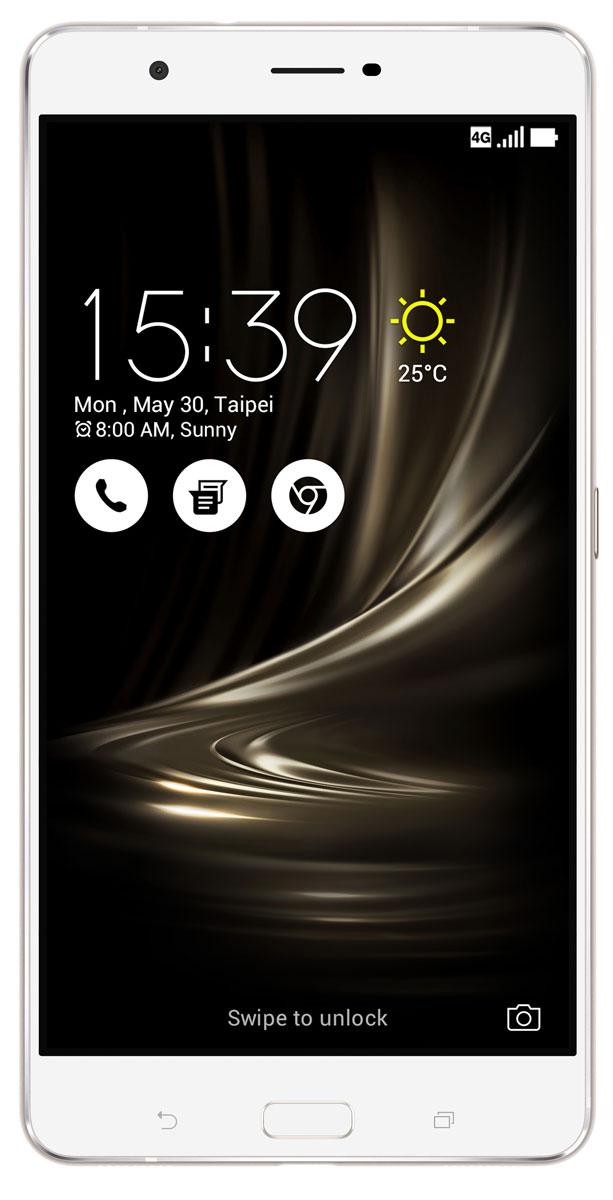 ASUS ZenFone 3 Ultra ZU680KL, Silver (90AK0012-M00370)90AK0012-M00370Вселенная невероятного — вокруг вас. Погрузитесь в мир ярких красок и чарующего звука, мир, неотличимый от реальности. Раскройте несравненные возможности непревзойденного ZenFone 3 Ultra.Используя в качестве основы корпуса смартфона металл, производители вынуждены идти на компромисс: применение компактных внутренних антенн было возможным только в сочетании со специальными пластиковыми вставками, необходимыми для прохождения радиосигнала. Но инженеры компании ASUS смогли справиться с этой проблемой: новый ZenFone 3 Ultra обладает стильным, полностью металлическим корпусом без диэлектрических вставок на задней крышке, изящество которого подчеркивается эффектными гранями, выполненными с помощью алмазной резки.ZenFone 3 Ultra – это чудо современных технологий, которое рождается в результате сложного производственного процесса, включающего в себя 240 этапов. Прецизионная фрезеровка заготовки для получения прочного и при этом тонкого корпуса, полировка металлической рамки методом пескоструйной обработки – каждый этап представляет собой еще один шаг на пути к техническому совершенству, которым является новый смартфон ASUS.Смартфон Zenfone 3 Ultra подарит вам совершенно новые впечатления от мобильных игр, просмотра фильмов и прослушивания музыки, ведь он обладает высококачественным дисплеем, улучшенными динамиками и целым рядом инновационных технологий, обеспечивающих высокую детализацию картинки, яркие цвета, плавное воспроизведение видео и прекрасное качество звука, причем благодаря встроенному порту USB Type-C мультимедийный контент со смартфона можно выводить на любой монитор с интерфейсом DisplayPort. Zenfone 3 Ultra – это лучшее решение для мобильных развлечений!ZenFone 3 Ultra – это первый в мире смартфон с поддержкой эксклюзивной технологии для оптимизации изображения ASUS Tru2Life+. Созданная на базе новейших алгоритмов обработки изображения, используемых в наиболее совершенных моделях 4K-телевизо