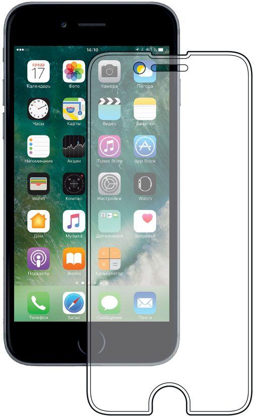 Deppa защитное стекло для Apple iPhone 7, Clear62031Защитное стекло Deppa для смартфона Apple iPhone 7 изготовлено из специально обработанного многослойного закаленного стекла прочности 9H.Клеевой слой на задней поверхности позволяет легко устанавливать закаленное стекло без особых навыков. Олеофобное покрытие предотвратит появление следов от пальцев и сохранит чувствительность сенсора смартфона. Защитное стекло Deppa максимально защитит экран от царапин, повреждений, влаги и ударов.
