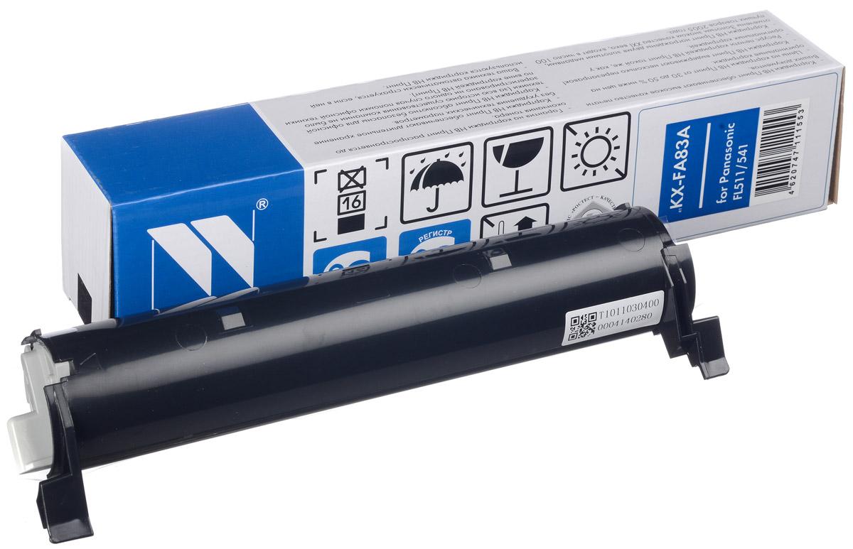 NV Print KX-FA83A/E, Black тонер-картридж для Panasonic KX-FL511/ 512/513RU/ 541/543RU/M513RU/ 543RU/M653RU/663RUNV-KXFA83A/EСовместимый лазерный картридж NV Print KX-FA83A/E для печатающих устройств Panasonic - это альтернатива приобретению оригинальных расходных материалов. При этом качество печати остается высоким. Картридж обеспечивает повышенную чёткость чёрного текста и плавность переходов оттенков серого цвета и полутонов, позволяет отображать мельчайшие детали изображения.Лазерные принтеры, копировальные аппараты и МФУ являются более выгодными в печати, чем струйные устройства, так как лазерных картриджей хватает на значительно большее количество отпечатков, чем обычных. Для печати в данном случае используются не чернила, а тонер.