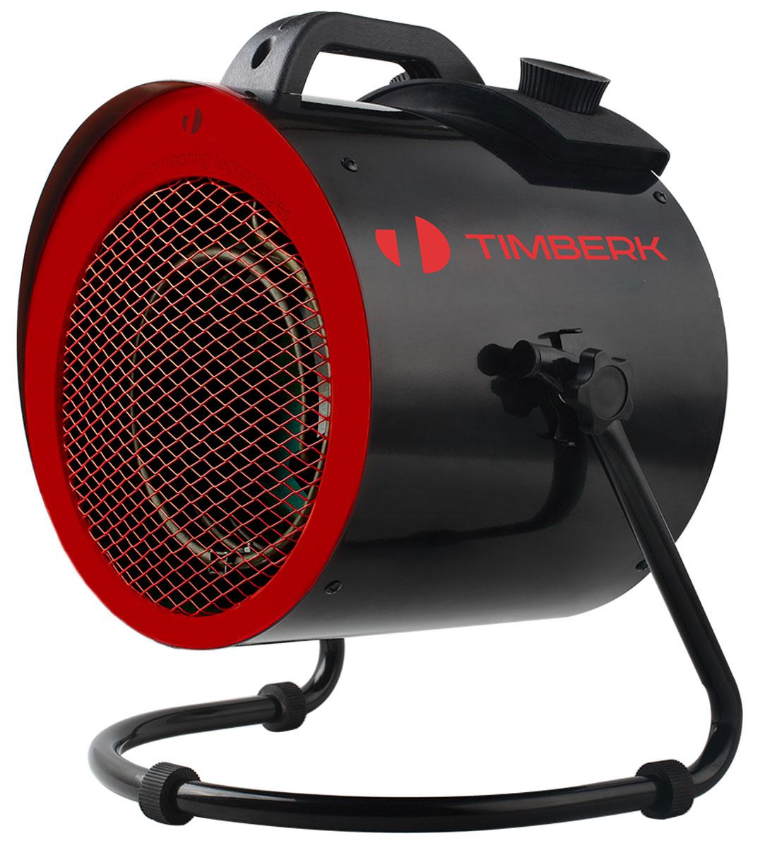 Timberk TIH R5 3M Eco тепловая пушкаCB 090Тепловая пушка Timberk TIH R5 3M ECO снабжена нержавеющим ТЭНом со специальным покрытием, что обеспечивает увеличенную тепловую эффективность и быстрый выход на рабочий режим. Мощный поток воздуха, эффективный и равномерный, быстро прогревает даже помещение большого объема. Износостойкое мелкодисперсионное покрытие корпуса, режим экономичного и интенсивного обогрева и вентиляции без обогрева, а также комфортный низкий уровень шума прибора сделают его незаменимым помощником для поддержания температуры в больших помещениях.Пожаростойкий пластикУсиленные боковые закрепителиРезиновые опоры, улучшенное устойчивое основание прибора100% складная конструкция для компактного длительного храненияНегорючий фиксатор крыльчаткиПродолжительность работы/паузы: 22/2 ч