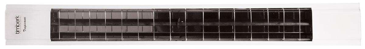 Timberk TCH A3 1000 обогреватель инфракрасныйCB 090Инфракрасный обогреватель Timberk TCH A3 1000 имеет великолепный дизайн и исполнение - редкость среди профессиональных приборов, специализирующихся, как правило, на надежности. Крашеный корпус для бытового применения, стойкий к воздействию среды, рефлектор с высочайшим коэффициентом отражения и повышенная экономия расхода электроэнергии делают прибор отличным помощником в обогреве помещений. Потолочный, а также ограниченный настенный монтаж дает возможность сэкономить пространство, а горячая рабочая поверхность при такой установке недоступна для случайных контактов.Возможность подключения пульта дистанционного управления TMS 08.CHВозможность подключения комнатного термостата TMS.09CH или TMS 10.CHВысота подвеса: 2,5 м