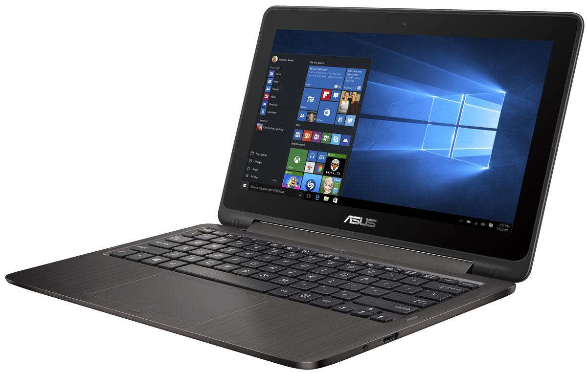 ASUS VivoBook Flip TP201SA (TP201SA-FV0009T)TP201SA-FV0009TAsus VivoBook Flip TP201SA - и для работы, и для развлечений!11,6-дюймовый ноутбук VivoBook Flip TP201SA обладает тонким корпусом (толщина 22 мм) с откидывающимся на 360 градусов экраном и весит всего 1,39 кг. Он идеально подходит и для работы, и для развлечений, а также станет вашим надежным помощником в дороге. Ноутбук обладает металлической отделкой, которая не только привлекательно выглядит, но и отличается повышенной долговечностью.Asus VivoBook Flip TP201SA оборудован дисплеем с инновационным механизмом крепления, который позволяет раскрывать ноутбук на 360 градусов и надежно удерживает дисплей точно в заданном положении. Настройте TP201SA согласно своим предпочтениям: для повседневной работы предназначен режим ноутбука, в режиме просмотра удобно демонстрировать мобильные презентации, для просмотра фильмов идеально подходит режим стенда, а для развлечений устройство мгновенно трансформируется в планшет.Asus VivoBook Flip TP201SA оснащается мощным и энергоэффективным процессором Intel, а также высокопроизводительной встроенной видеокартой.Операционная система Windows 10 предлагает новый режим работы Continuum, который автоматически меняет расположение элементов интерфейса Windows в зависимости от того, как используется ноутбук-трансформер.Asus VivoBook Flip TP201SA оборудован симметричным портом USB Type-C, удобным для подключения USB-периферии. Данный порт стандарта USB 3.1 Gen 1 с пропускной способностью 5 Гбит/с позволяет скопировать 2-гигабайтный фильм на USB-диск всего за 2 секунды! Для совместимости с широким спектром устройств ноутбук оборудован стандартными портами USB 3.0 и USB 2.0, а также разъемом HDMI для подключения внешнего дисплея.Мультимедийные возможности устройства дополняет разработанная специалистами Asus технология SonicMaster, представляющая собой комплекс аппаратных и программных средств улучшения качества звука.Полноразмерная клавиатура ноутбука Flip TP201SA отличается оптимальны