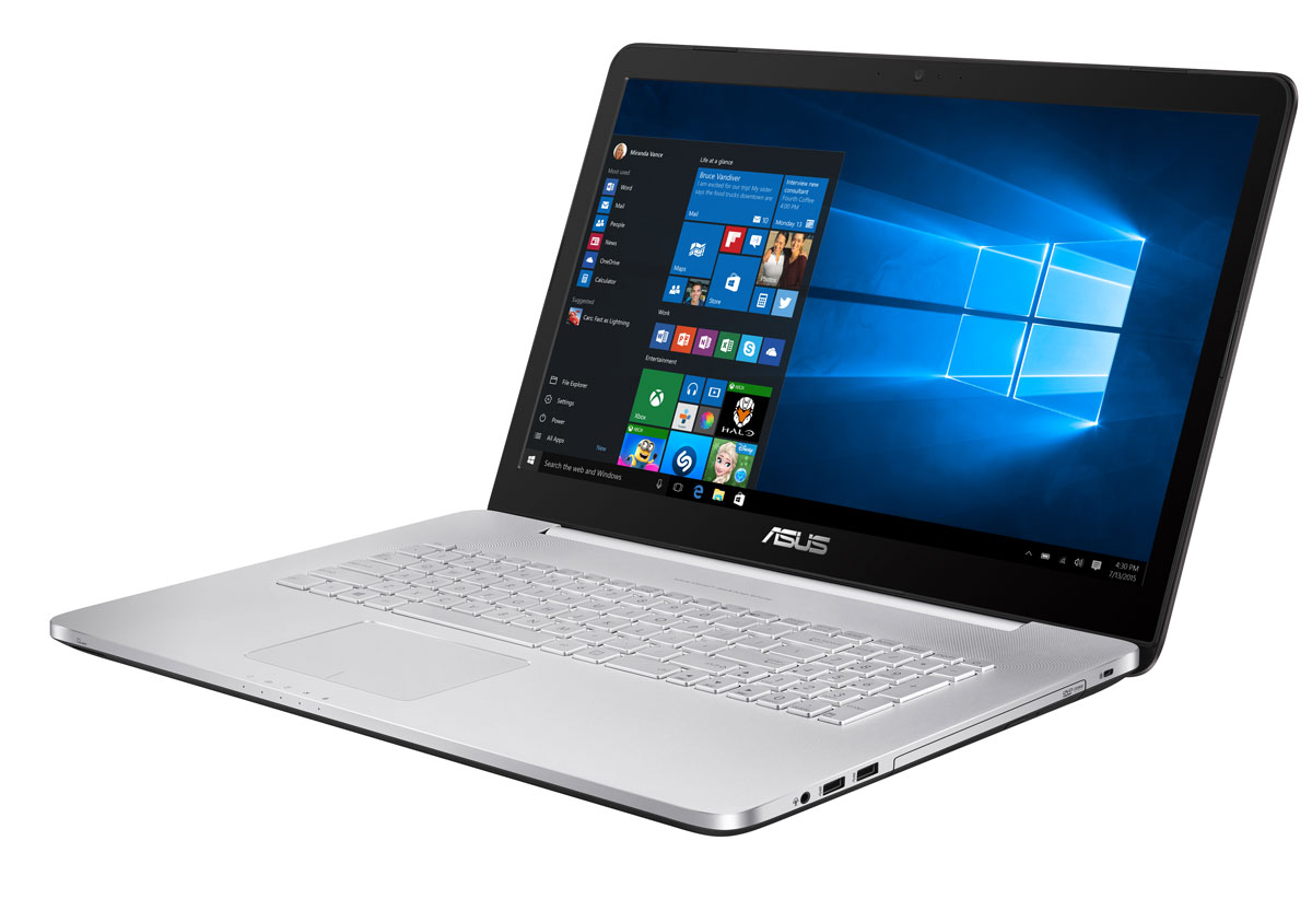 ASUS VivoBook Pro N752VX (N752VX-GC278T) - Ноутбуки