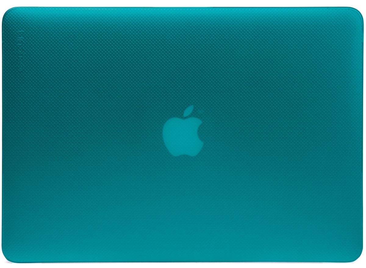 Incase Hardshell Case Dots чехол для Apple MacBook Pro 13, PeacockCL90058Защитите свой MacBook и украсьте его в своём стиле с помощью лёгкого облегающего футляра Hardshell Case Dots от Incase. Он обеспечивает полную защиту, не закрывая доступ к разъёмам, индикаторам и кнопкам. Этот прочный футляр для MacBook выполнен в элегантном стиле. Благодаря литой конструкции и прорезиненным ножкам ноутбук хорошо зафиксирован на месте и не нагревается. Имеет вентиляционные отверстия для отвода тепловыделения.