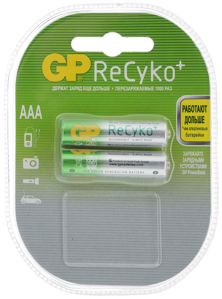 Набор предзаряженных аккумуляторов GP Batteries, ReCyko+, тип ААА, 850 mAh, 2 шт3126ReCyko+ - это наиболее совершенные аккумуляторы. Будучи предварительно заряженными и хранящими энергию на протяжении одного года (если не используются), они прекрасно подходят для устройств с любым объемом энергопотребления. Их энергоемкость выше, чем у алкалиновых элементов питания и они могут быть перезаряжены до 1000 раз - забота об окружающей среде и очевидная экономия. * Предварительно заряжены и готовы к использованию* Энергоемкость выше, чем у алкалиновых элементов питания* Сохраняют заряд в течение 1 года (если не используются)* Могут быть перезаряжены до 1000 раз