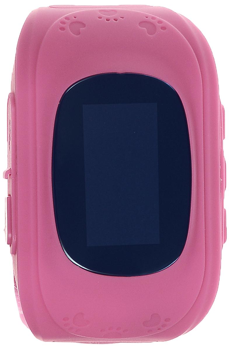 TipTop 50ЧБ, Pink детские часы-телефон00114Детские умные часы-телефон TipTop 50ЧБ с GPS - трекером созданы специально для детей и их родителей. С ними вы всегда будете знать, где находится ваш ребенок и что рядом с ним происходит.Как они работают и какие имеют преимущества? Управление часами происходит полностью через мобильное приложение, которое можно бесплатно скачать на AppStore или PlayMarket.Основные функции:Родители с помощью мобильного приложения всегда видят на карте где находится их ребенокВ часы вставляется сим - карта. Родители всегда могут позвонить на часы, также ребенок может позвонить с часов на 3 самых важных номера - мама, папа, бабушка. Также можно разрешать или запрещать номерам звонить на часы, например внести в список разрешенных звонков только номера телефонов близких и родныхРодители могут слушать, что происходит рядом с ребенком - как няня обращается с ребенком, как ребенок отвечает на уроках и др.На часах есть кнопка SOS - в случае опасности ребенок нажимает на эту кнопку и часы автоматически дозваниваются на все 3 номера - кто быстрее ответит. Также высылают сообщение родителям с координатами ребенкаРодители могут слушать, что происходит рядом с ребенком - как няня обращается с ребенком, как ребенок отвечает на уроках и др.Датчик снятия с руки - если ребенок снимет часы, то автоматически на телефон родителя придет уведомление. Также приходят уведомления, если часы разряженыВозможность установить гео-забор - зону, за которую ребенку не следует выходить. Если ребенок вышел - приходит уведомление на телефонФитнес-трекер - шагомер, пройденное расстояние, качество сна, потраченное количество калорийВ каком возрасте ребенку особенно необходимы часы TipTop с функцией GPS?Когда ребенок начинает ходить: уже с этого момента возникает опасность, что он может потеряться в многолюдных местах - супермаркете, аэропортах, вокзалах. Вы сможете отследить его месторасположение по GPS в любой момент. Напишите ФИО и ваш телефон на ремешке часов, если ваш малыш