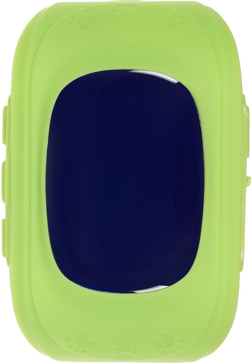 TipTop 50ЧБ, Green детские часы-телефон00116Детские умные часы-телефон TipTop 50ЧБ с GPS – трекером созданы специально для детей и их родителей. С ними вы всегда будете знать, где находится ваш ребенок и что рядом с ним происходит.Как они работают и какие имеют преимущества? Управление часами происходит полностью через мобильное приложение, которое можно бесплатно скачать на AppStore или PlayMarket.Основные функции:Родители с помощью мобильного приложения всегда видят на карте где находится их ребенокВ часы вставляется сим - карта. Родители всегда могут позвонить на часы, также ребенок может позвонить с часов на 3 самых важных номера - мама, папа, бабушка. Также можно разрешать или запрещать номерам звонить на часы, например внести в список разрешенных звонков только номера телефонов близких и родныхРодители могут слушать, что происходит рядом с ребенком - как няня обращается с ребенком, как ребенок отвечает на уроках и др.На часах есть кнопка SOS - в случае опасности ребенок нажимает на эту кнопку и часы автоматически дозваниваются на все 3 номера - кто быстрее ответит. Также высылают сообщение родителям с координатами ребенкаРодители могут слушать, что происходит рядом с ребенком - как няня обращается с ребенком, как ребенок отвечает на уроках и др.Датчик снятия с руки - если ребенок снимет часы, то автоматически на телефон родителя придет уведомление. Также приходят уведомления, если часы разряженыВозможность установить гео-забор - зону, за которую ребенку не следует выходить. Если ребенок вышел - приходит уведомление на телефонФитнес-трекер – шагомер, пройденное расстояние, качество сна, потраченное количество калорийВ каком возрасте ребенку особенно необходимы часы TipTop с функцией GPS?Когда ребенок начинает ходить: уже с этого момента возникает опасность, что он может потеряться в многолюдных местах – супермаркете, аэропортах, вокзалах. Вы сможете отследить его месторасположение по GPS в любой момент. Напишите ФИО и ваш телефон на ремешке часов, если ваш малы