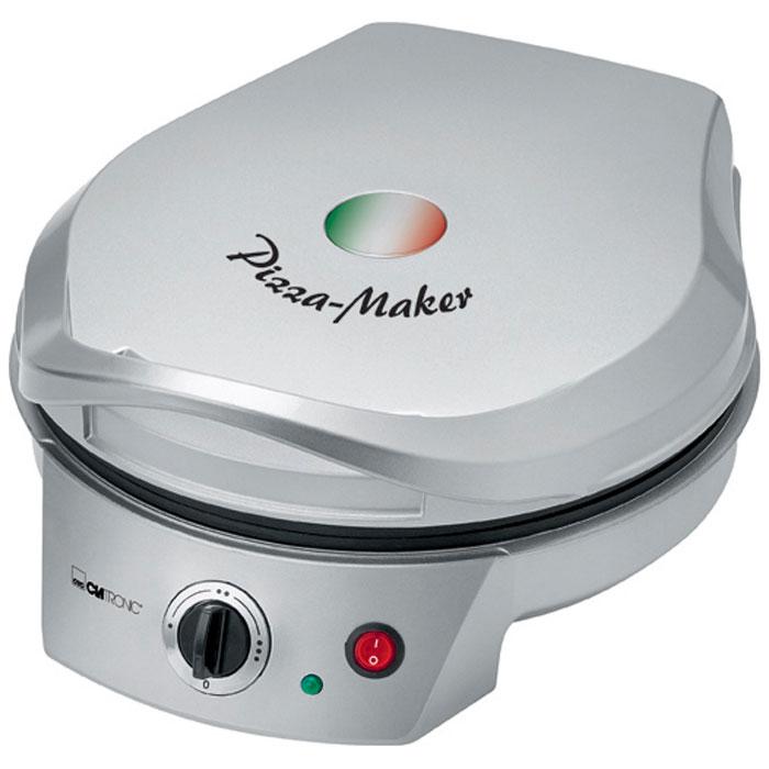 Clatronic PM 3622, Grey пицца-мейкерPM 3622 silberПиццамейкер CLATRONIC PM 3622 имеет регулировку степени нагрева. Благодаря верхнему и нижнему нагреву пицца пропекается равномерно.Прибор имеет антипригарное покрытие, что не даст вашей пицце подгореть. Также есть большая теплоизолированная ручка для болшего комфорта при работе.