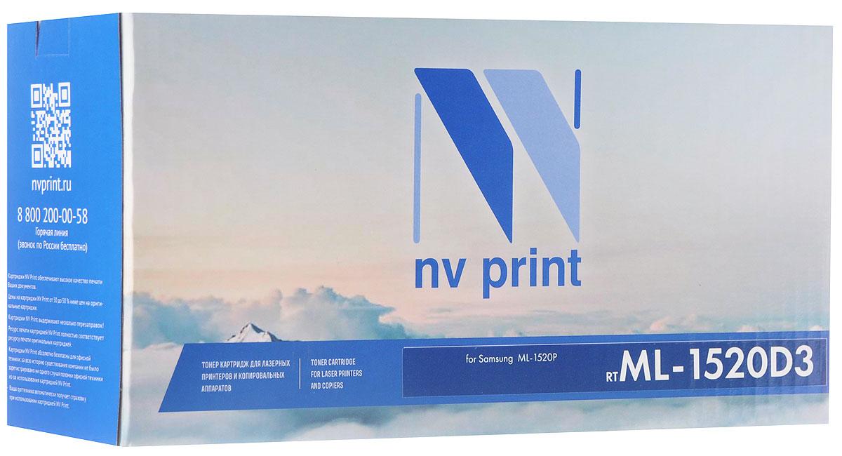 NV Print ML1520D3, Black тонер-картридж для Samsung ML-1520PNV-ML1520D3Совместимый лазерный картридж NV Print ML1520D3 для печатающих устройств Samsung - это альтернатива приобретению оригинальных расходных материалов. При этом качество печати остается высоким. Картридж обеспечивает повышенную чёткость чёрного текста и плавность переходов оттенков серого цвета и полутонов, позволяет отображать мельчайшие детали изображения.Лазерные принтеры, копировальные аппараты и МФУ являются более выгодными в печати, чем струйные устройства, так как лазерных картриджей хватает на значительно большее количество отпечатков, чем обычных. Для печати в данном случае используются не чернила, а тонер.