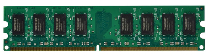 Patriot DDR2 DIMM 2GB 800МГц модуль оперативной памяти (PSD22G80026)