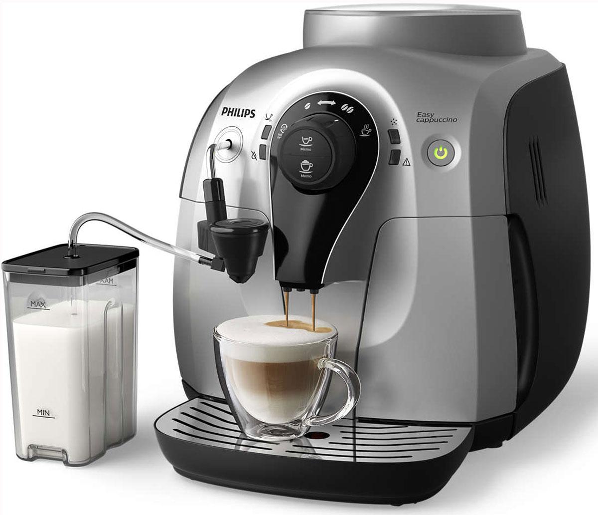 Philips HD8654/59, Silver Black кофемашина
