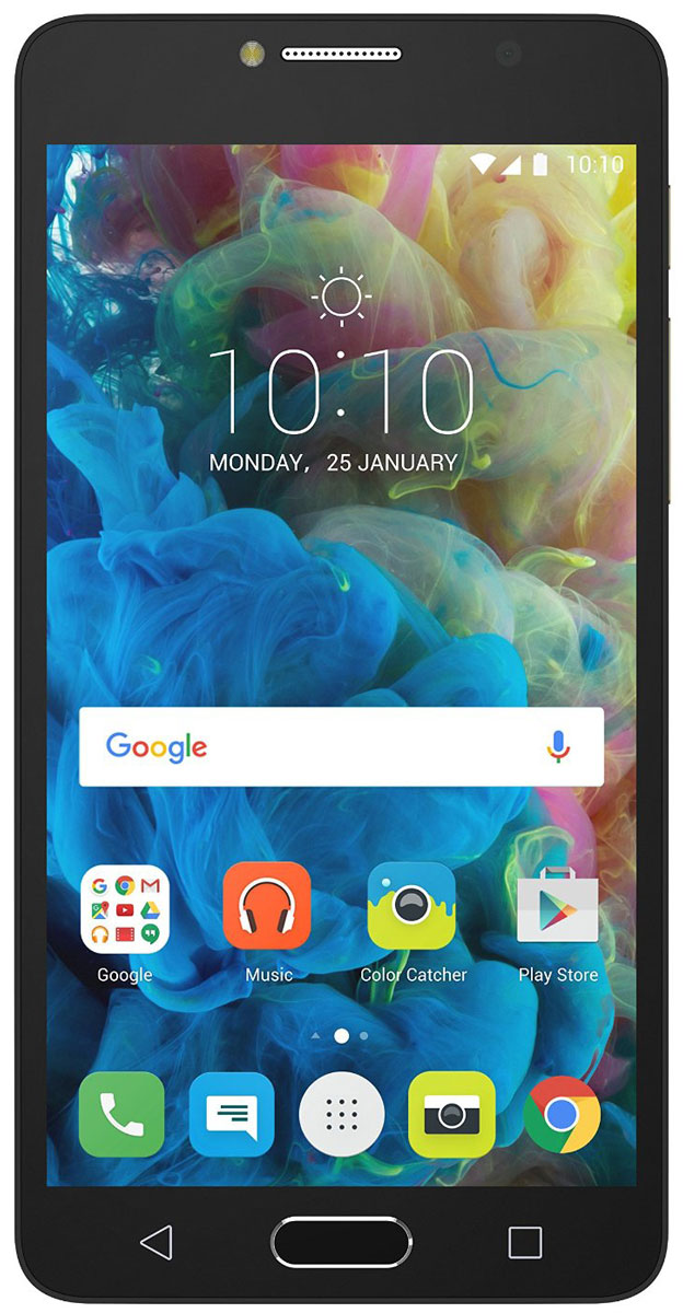 Alcatel OT-5095K POP 4S, Metal Gold5095K-2GALRU1Оставайтесь в центре внимания! Alcatel POP4S - это идеальный смартфон для тех, кто хочет выделиться из толпы и заявить о себе. Тонкий корпус, красивые плавные линии и Full HD IPS - экран с полной ламинацией делают его по-настоящему привлекательным.Благодаря 13-мегапиксельной камере и широкоугольному объективу POP4S вы сможете запечатлеть важные моменты, как, впрочем и создать их.Заряда вам хватит на долго благодаря аккумулятору с высоким запасом ёмкости - 2960 мАч.Пользуйтесь параллельно несколькими приложениями и всегда оставайтесь на связи с близкими людьмиблагодаря мощному 8-ядерному процессору и поддержке 4G.Hi-Fi звучание и безупречный стиль наушников JBL дарят особенное удовольствие от прослушивания музыки и просмотра видео.Благодаря сканеру отпечатков пальцев вы можете быть уверены в безопасности своих данных - 24 часа в сутки, 7 дней в неделю.Телефон сертифицирован EAC и имеет русифицированную клавиатуру, меню и Руководство пользователя.