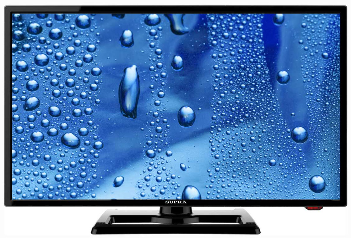 Supra STV-LC22T440FL телевизорSTV-LC22T440FLТелевизор Supra STV-LC22T440FL с насыщенной цветопередачей изображения на экране с разрешением 1920x1080 FullHD и широкими углами обзора. Источником сигнала для качественной реалистичной картинки служат не только цифровые эфирные и кабельные каналы, но и любые записи с внешних носителей, благодаря универсальному встроенному USB медиаплееру.Количество цветов: 16,7 миллионовПоддержка HDTVЯркость: 230 кд/м2Динамическая контрастность: 60000:1Угол обзора: 170°Время отклика пикселя: 5 мс